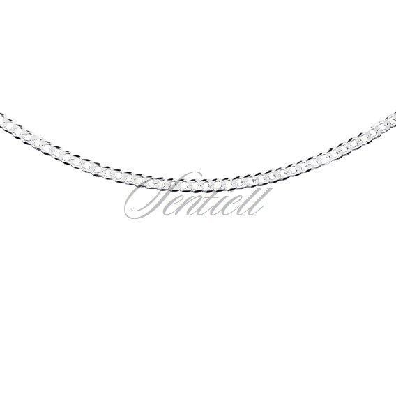 7da3be5c41aa7d 2180 - Silver (925) diamond-cut chain - curb extra flat Ø 060 ...