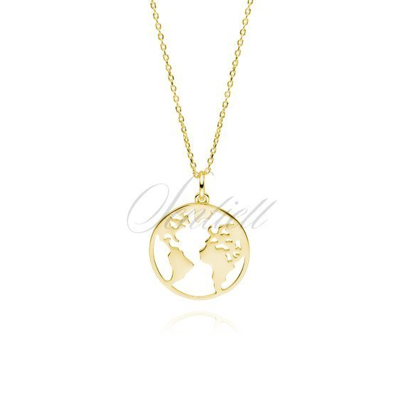 14K Yellow Gold-plated 925 Silver 100/% Polish Pendant with 18 Necklace Jewels Obsession 100/% Polish Necklace