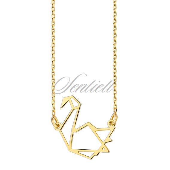 Origami crane necklace - Rings and Things | 568x568