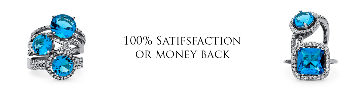 100% satisfaction or money back