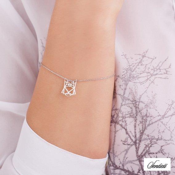 Br1015 - Origami Owl Bracelet Silver , Free Transparent Clipart ... | 568x568