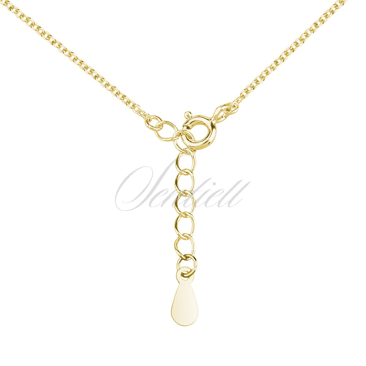 Jewels Obsession Christmas Ornament Necklace 14K Yellow Gold-plated 925 Silver Christmas Ornament Pendant with 16 Necklace
