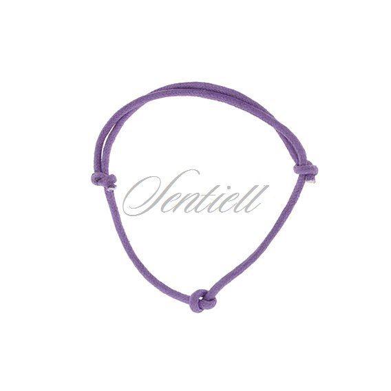 Base bracelet for flat charms - violet matt
