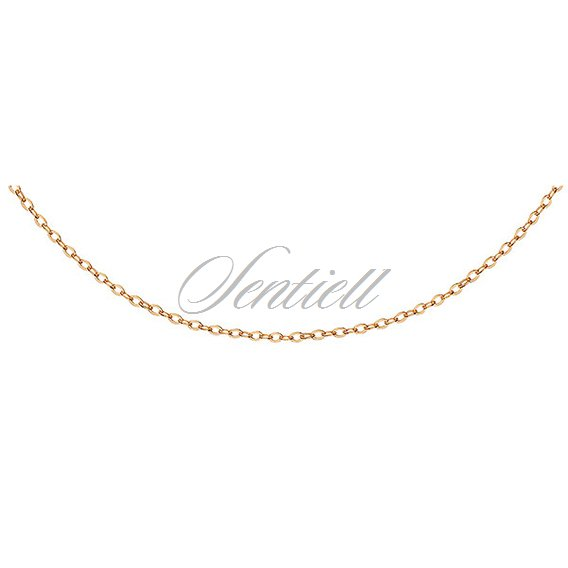 Silver (925) Anchor chain, gold-plated