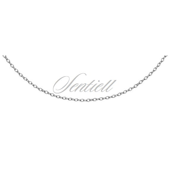 Silver (925) Anchor chain rhodium-plated