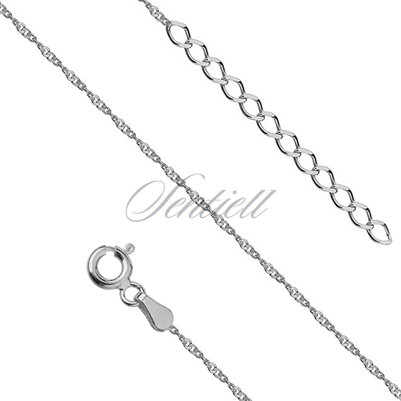 Silver (925) anklet - adjustable size