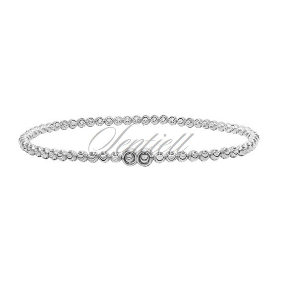 Silver (925) bracelet diamond-cut