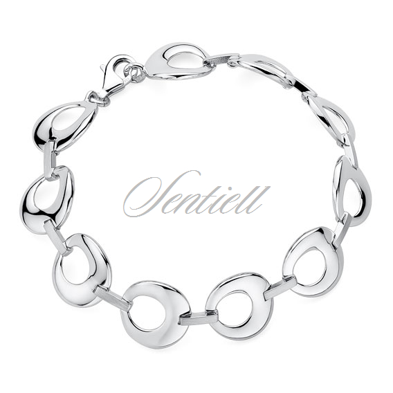 Silver (925) bracelet with round elements