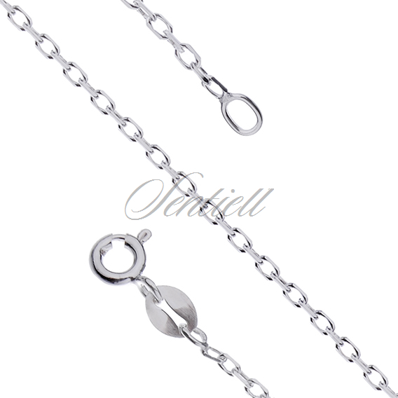 Silver (925) chain Rolo diamond cut  Ø 040 weight from 2,0g