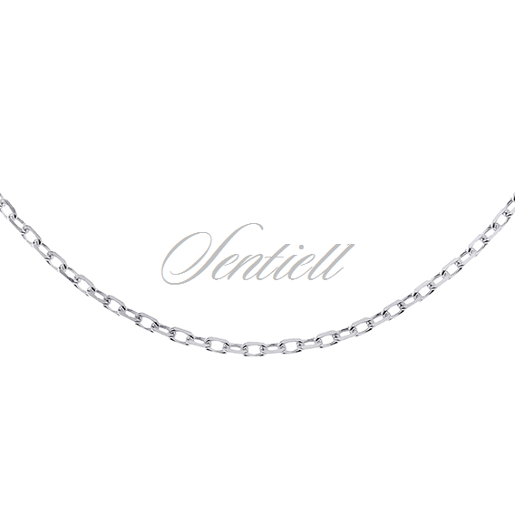 Silver (925) chain Rolo diamond cut  Ø 050 weight from 2,6g