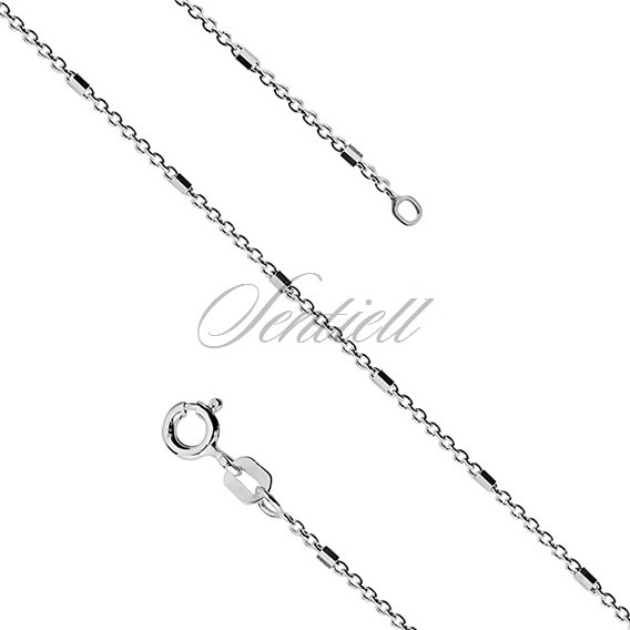 Silver (925) chain necklace Ø 025 weight from 2,2g