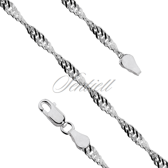 Silver (925) chain singapur  Ø 050 weight from 4,8g