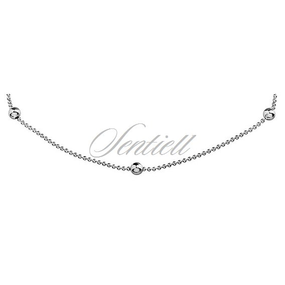 Silver (925) chain with beads