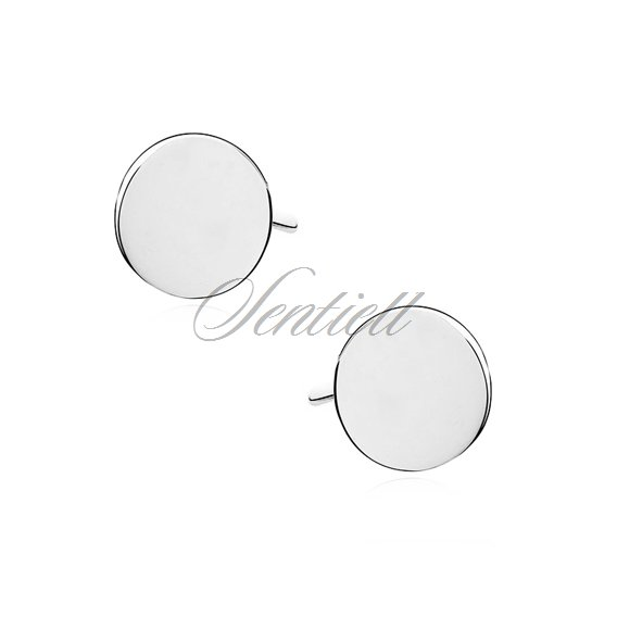 Silver (925) earrings - circles