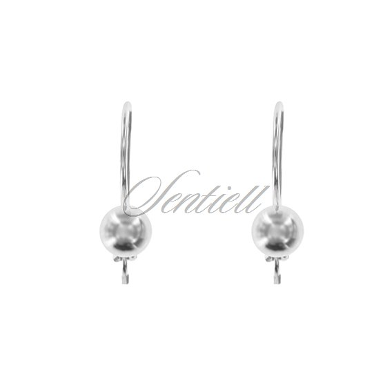 Silver (925) earrings balls