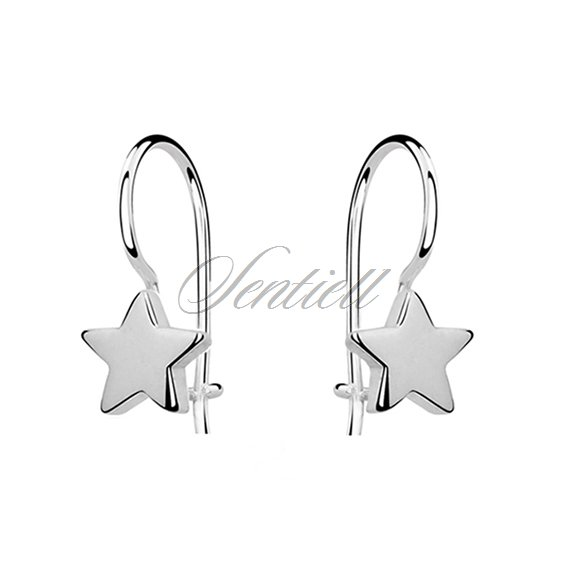 Silver (925) earrings stars