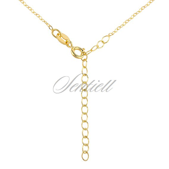 Silver (925) gold-plated necklace - little feets
