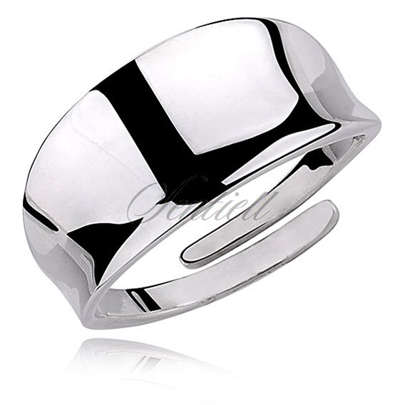 Silver (925) highly polished ring