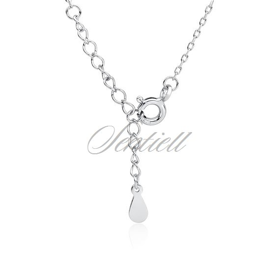 Silver (925) necklace - dog / cat paw