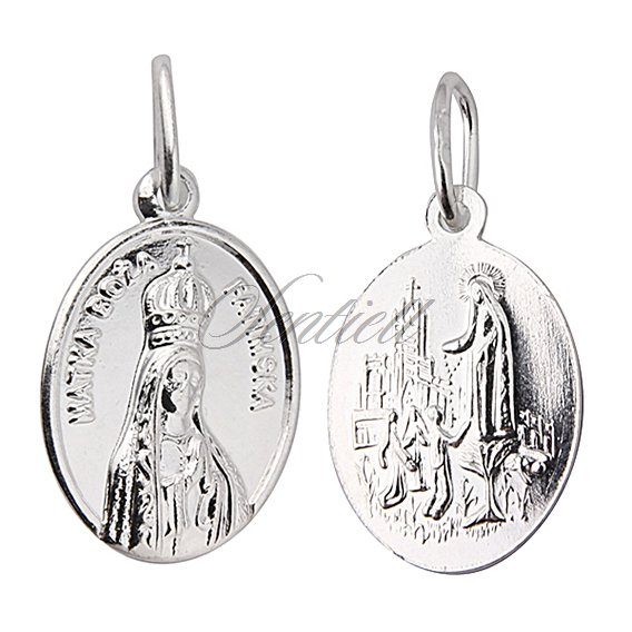 Silver (925) pendant - Our Lady of Fatima