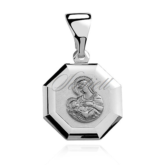 Silver (925) pendant Saint Mary