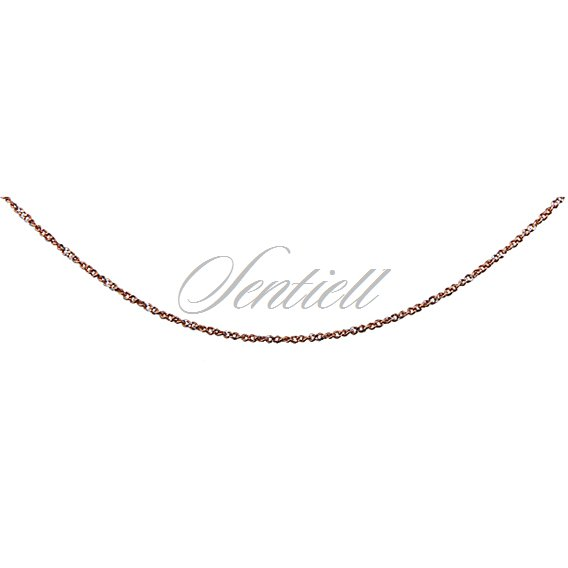 Silver (925) singapore rit rose chain Ø 020 weight from 1,35g