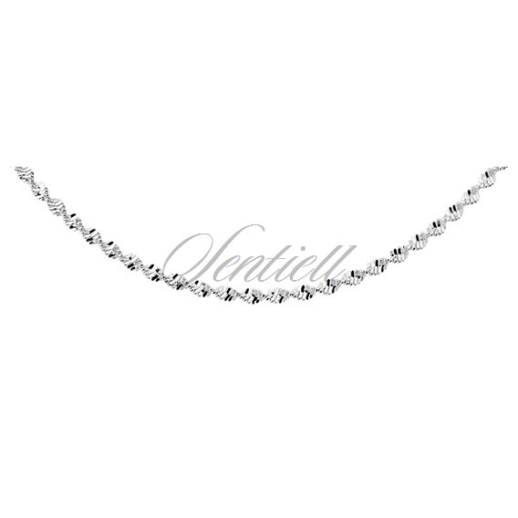 Silver (925) twisted chain