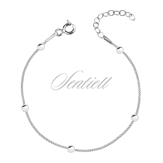 Silver (925) bracelet with balls