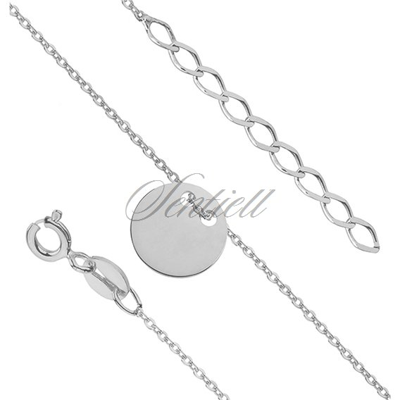 Silver (925) bracelet with circle