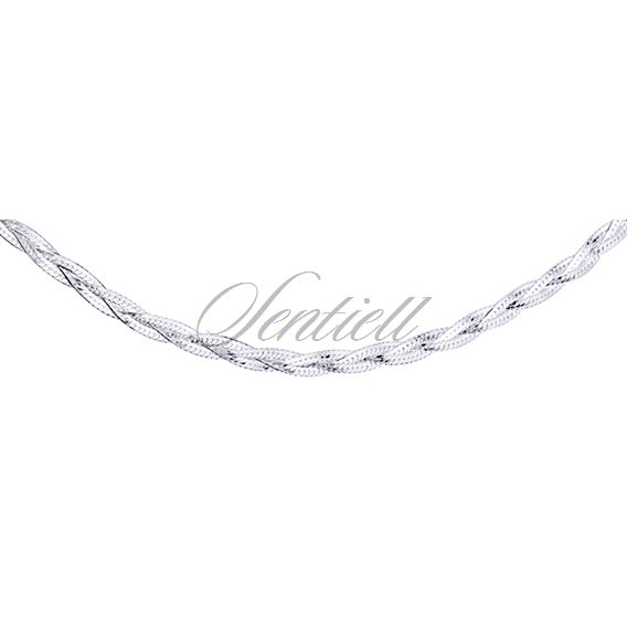 Silver (925) chain necklace Ø 024