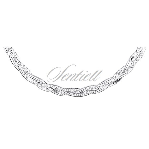 Silver (925) chain necklace Ø 040