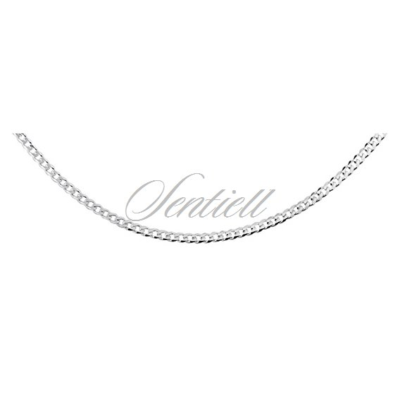 Silver (925) diamond-cut chain - curb Ø 058 weight from 3,35g