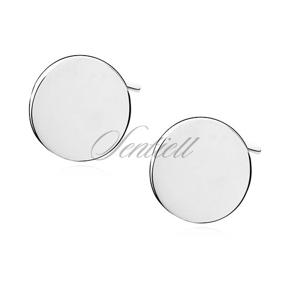 Silver (925) earrings with circles