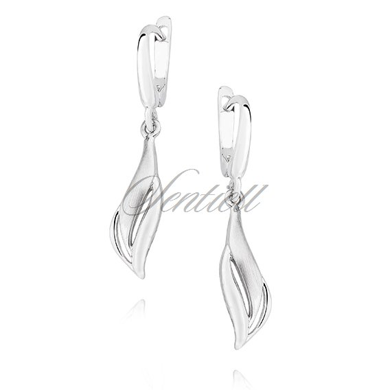 Silver (925) elegant earrings