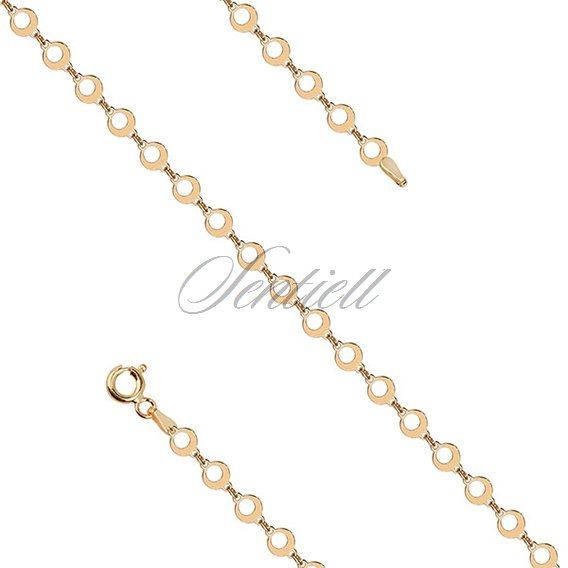 Silver (925) gold-plated chain