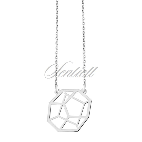 Silver (925) necklace - Origami