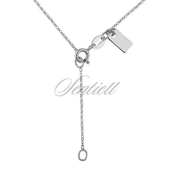 Silver (925) necklace withopen-work  round pendant