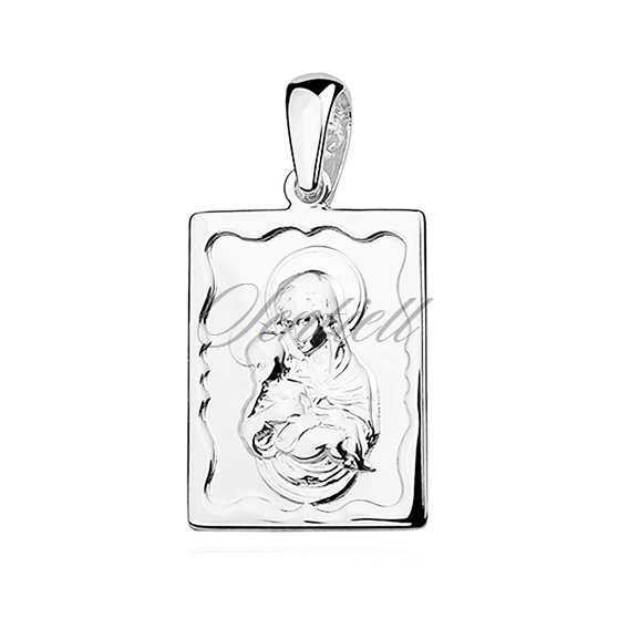 Silver (925) pendant Blessed Virgin Marry with Child