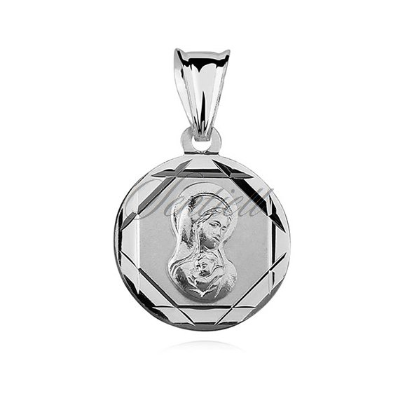 Silver (925) pendant Virgin Mary Madonna
