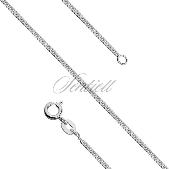Silver (925) rhodium plated chain - Ø 040