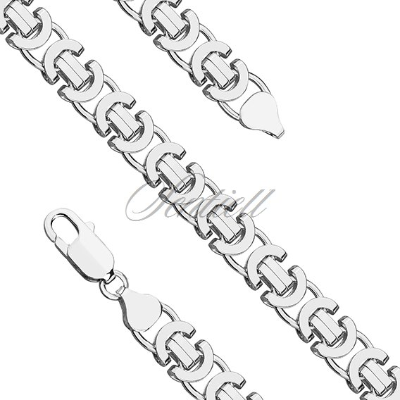 Silver (925) chain Ø 0150 rhodium-plated