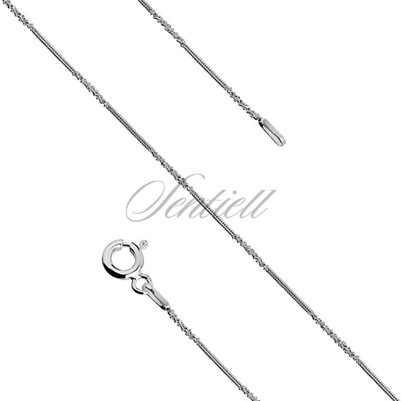 Silver (925) chain necklace Ø 015