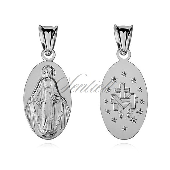 Silver (925) pendant Miraculous Virgin Mary
