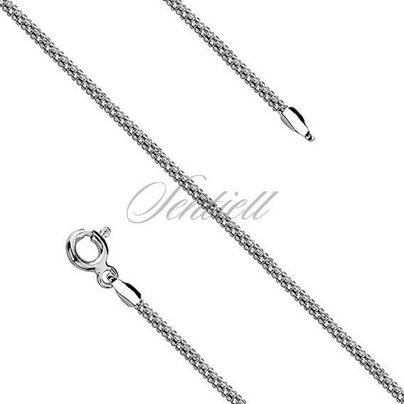 Silver chain (925) coreana rhodium-plated